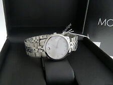 NEW Movado Museum Classic Swiss Quartz Diamond Women's Watch 0606612