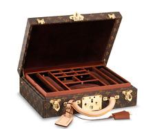 Louis Vuitton Authentic LV Monogram Canvas Jewellery Case Malle Trunk Suitcase