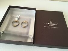 New earrings by CHARRIOL $285.00 color silver-gold