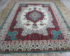 TRADITIONAL ANTIQUE PERSIAN Wool  9.8 X 13.2  HANDMADE RUGS ORIENTAL RUG CARPET
