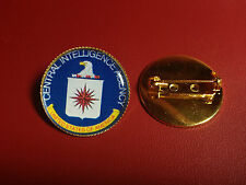 CENTRAL INTELLIGENCE AGENCY `C.I.A  Gold Plated PIN Badge