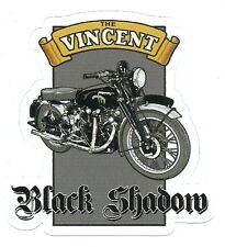 VINCENT BLACK SHADOW MOTORCYCLE Sticker Decal