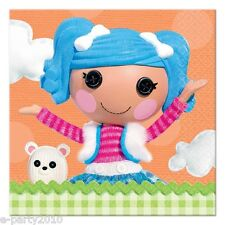 LALALOOPSY SMALL NAPKINS (16) ~ Birthday Party Supplies Cake Dessert Beverage