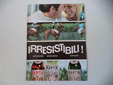 advertising Pubblicità 1968 MARTINI ROSSO/BIANCO/DRY