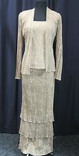 Damianou Mother of the Bride Dress, cruise dress Size Petite, Lace, Evening Gown