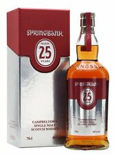 1 BT WHISKY SPRINGBANK 25YO 70 CL 46°2015 J. MITCHELL – Campbeltown – Scotland