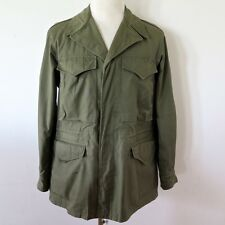 VINTAGE ORIGINAL KOREAN WAR M-1950 M1950 FIELD JACKET MIL-J-843 SMALL REGULAR