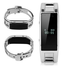 Smart Bluetooth D8 Bracelet Wrist Watch Bracelet for Android Phone Black Silver