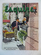 Vintage ESQUIRE The Magazine for Men Sept. 1946 GERTRUDE LAWRENCE Photo by STONE