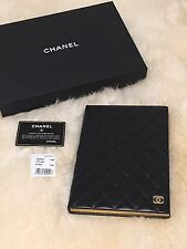 NWT Chanel Black Quilted Lambskin Notebook