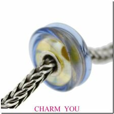 AUTHENTIC TROLLBEADS 61405 Cool Dusk Glass Bead