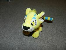 Brand New Yellow/Blue Lion neopets plush toys