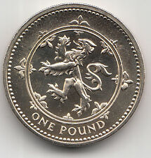 Rare 1999 £1 POUND COIN Lion Rampant of Scotland - Uncirculated