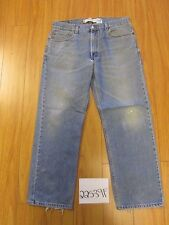 levi 505 feather destroyed regular fit grunge jean tag 36x30 Meas 34x29 22539F