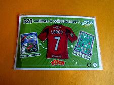 7 LEROY STADE RENNAIS RENNES ROAZHON FOOTBALL JUST FOOT MAGNETS 2008 PANINI