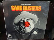 GANG BUSTERS RECORD LP RADIO SHOW