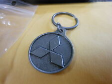 MITSUBISHI  OF ROSEVILLE CALIFORNIA METAL KEY CHAIN WITH KEY RING NEW (VN1)
