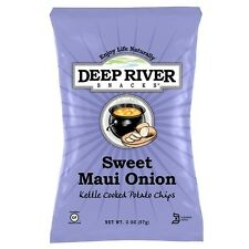 Deep River Snacks Sweet Maui Onion Kettle Chips 2 Oz Bags - Pack of 24
