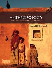 Anthropology: The Exploration of Human Diversity, Conrad Kottak, 0073405361, Boo
