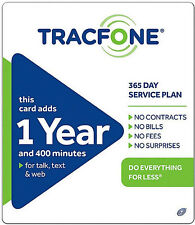 TracFone $99 Refill -  1 Year Service *Same Day Refill*