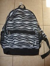 VICTORIAS SECRET PINK AZTEC FULL SIZE BACKPACK ZIP BOOK LAPTOP NWT