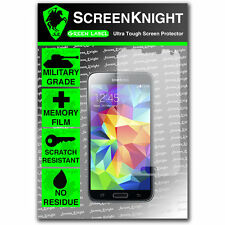 ScreenKnight Samsung Galaxy S5 Front SCREEN PROTECTOR invisible Military Shield
