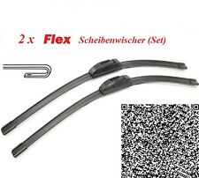2 x FLEX Scheibenwischer Mercedes C-Klasse W203 2000-2004 Soft-Flex Super Optik