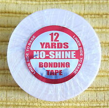 "Walker No Shine 1"" x 12 Yard Roll Tape In Seamless Skin Hair Extensions, Toupee"