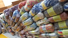 Mano per Maglieria Lana Yarn all' ingrosso stock lotto OdL COLORI ASSORTITI 1000 palline 07
