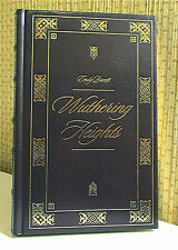 WUTHERING HEIGHTS, Emily Bronte, Leather, Book   PURTY!!