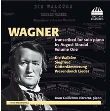 Wagner Transcribed For Solo Piano By Str (2013, CD NEUF) Juan Guillermo Vizcarra