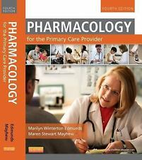 NEW - Free Express Ship - Pharmacology for the Primary Care Provider by Edmunds