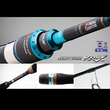 Abu Garcia Salty Stage KR-X Light Jigging 6'3'' Ovehead Rod SXLC-632-120-KR 2Pc