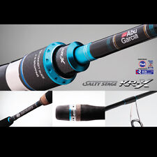 Abu Garcia Salty Stage KR-X Light Jigging 6'3'' Ovehead Rod SXLC-632-80-KR 2Pc