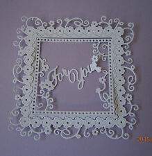 TATTERED LACE INTERLOCKING FRAME DIE CUTS