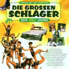 Die grossen Schlager der 70er Jahre 2 Johnny Hill, Bernd Clüver, Monica M.. [CD]