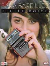 Sara Bareilles Little Voice Learn to Play Piano Vocal & Guitar Music Book