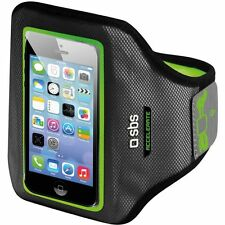 SBS MOBILE UNIVERSAL ARMBAND FOR SMARTPHONE ACCERALATE GREEN XL RRP £29.99