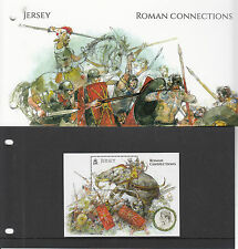 Jersey 2014 MNH Roman Connections 1v S/S Presentation Pack History