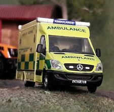 1:76 HO/OO/00 Mercedes Sprinter Welsh Ambulance WAS UVG Modular Model Oxford