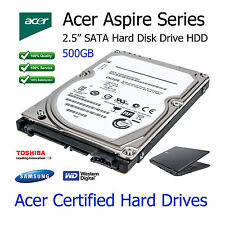 "500GB Acer Aspire 5732ZG 2.5"" SATA Laptop Hard Disk Drive Upgrade Replacement"