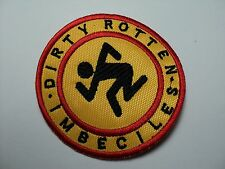 D.R.I.  ROUND SMALL    EMBROIDERED PATCH
