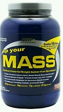 UP YOUR MASS FUDGE BROWNIE BY MHP WEIGHT GAINER 2LBS BRAND NEW SEALED PACKAGE