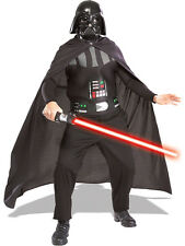 Adult Star Wars Darth Vader Kit Fancy Dress Costume + Lightsaber Mens BN