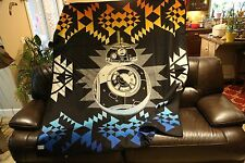 "Pendleton Wool Blanket 72"" x 64"" Star Wars THE FORCE AWAKENS Blanket Limited Edt"