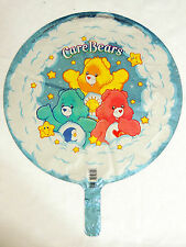 "NEW~CARE BEARS  -  1- 18"" MYLAR  BALLOON.-2 SIDE PRINT UNPACKAGED-   PARTY"