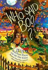 Who Said Boo?: Halloween Poems for the Very Young, Carlstrom, Nancy White, Good