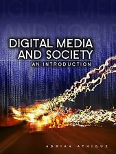 Digital Media and Society: An Introduction by Athique, Adrian