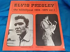 Rare Sealed Elvis Presley LP : The Hillbillycat 1954-1974 ~ Vol. 1 ~ Brookville