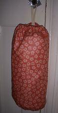 CARRIER BAG HOLDER HOMEMADE  DISPENSER MOTHERS DAY GIFT JANE CHURCHILL PEACH